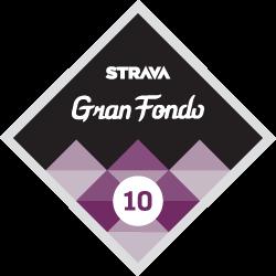 Gran Fondo 10 logo