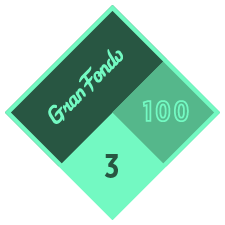 Gran Fondo 100 logo