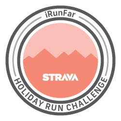 The iRunFar 50 Mile Holiday Challenge logo