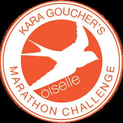 Kara Goucher's Marathon Challenge logo