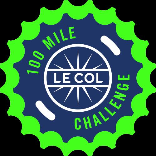 Le Col 100 Mile Challenge logo