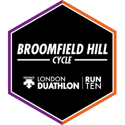 London Duathlon: Cycle logo