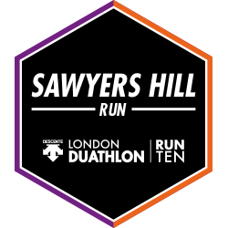 London Duathlon: Run logo