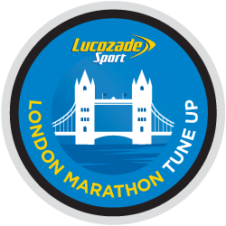 Lucozade Sport - Virgin Money London Marathon Tune-up logo