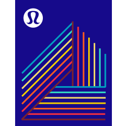 lululemon 40 | 80 Challenge logo