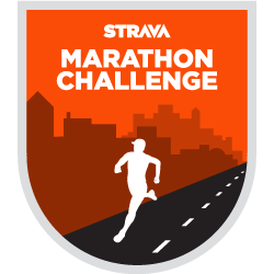 Strava Marathon Challenge logo
