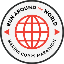 Run Around the World Challenge logo