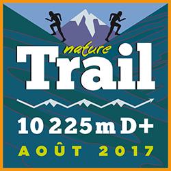 Nature Trail 10225m D+ logo