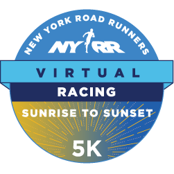 NYRR Virtual Sunrise to Sunset 5K logo