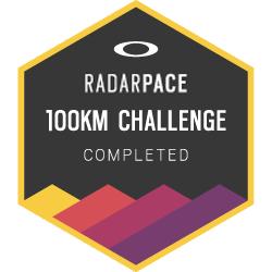 Oakley Radar Pace: 100