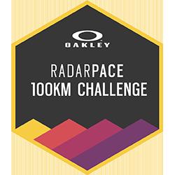 Logotipo de Oakley Radar Pace: 100