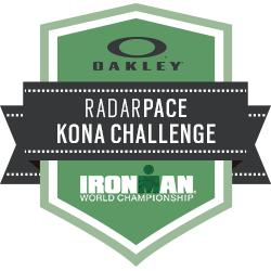 Oakley Radar Pace: Kona Challenge logo