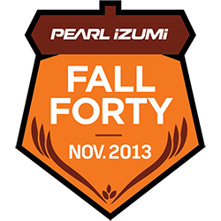 Pearl Izumi Fall Forty logo
