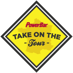 PowerBar Take on the Tour logo
