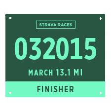 Meia Maratona Strava Races