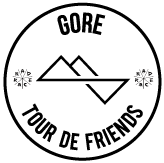 RAD RACE: Tour de Friends logo
