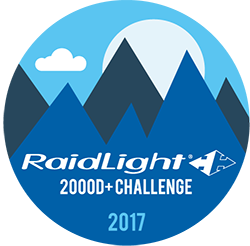 Raidlight 2,000D+  logo