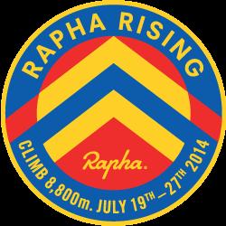 Rapha Rising: Three Ranges logo