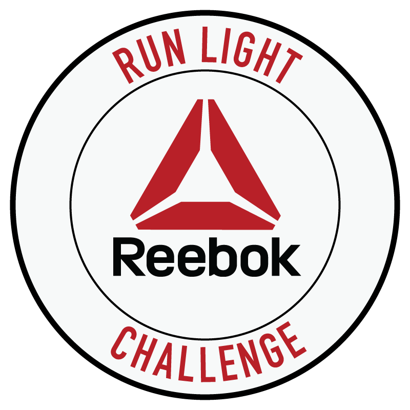 logomarca de Desafio Reebok Run Light