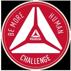 Reebok Be More Human Challenge logo