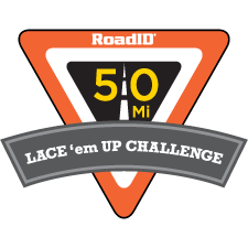 Road ID Lace 'em Up Challenge logo