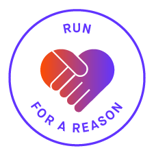 logomarca de Run for a Reason