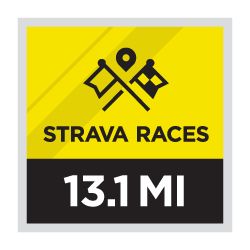 Mezza maratona delle corse Strava