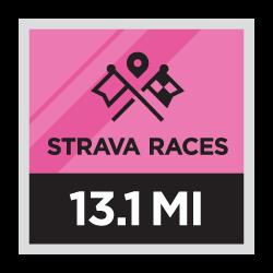 Strava Races Halve Marathon