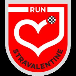 Stravalentine's Day Challenge logo