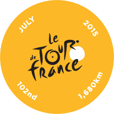 The Tour de France Challenge 2015 logo