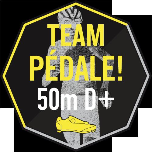 Course en côte Pédale! logo