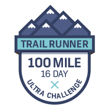 Trail Runner 100 Mile Challenge  logo