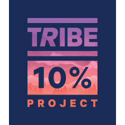 TRIBE 10% Project: You Against You logo