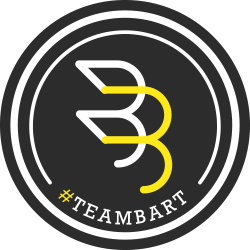 #bruegelmannbattle. Team Bart logo