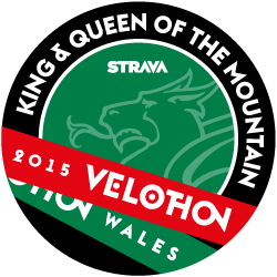 Velothon Wales King and Queen of the Mountain