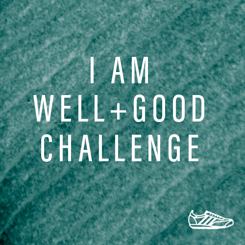 I Am Well+Good Challenge logo