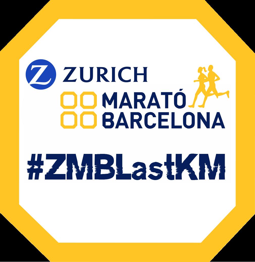 Zurich Marató Barcelona last KM logo