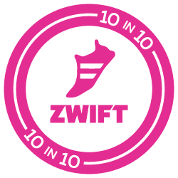 Zwift 10-in-10 Challenge logo