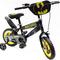 batman on a bike