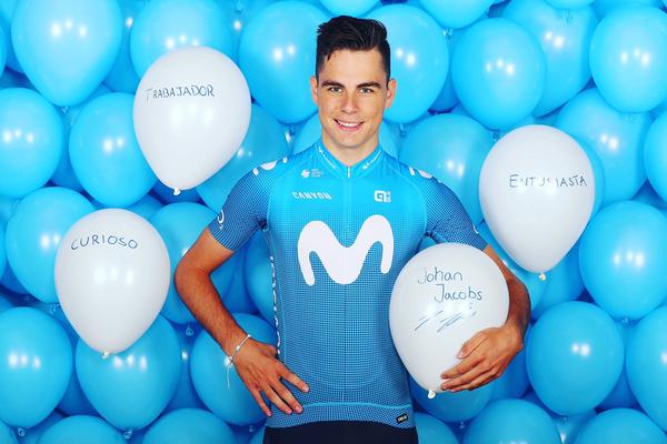 Strava Pro Cyclist Profile | Johan Jacobs (Movistar)