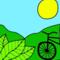 Black   Pedal Verde Brasil ®.