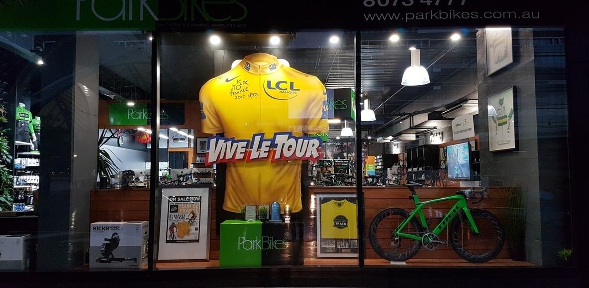 Park Bikes at Sydney Olympic Park