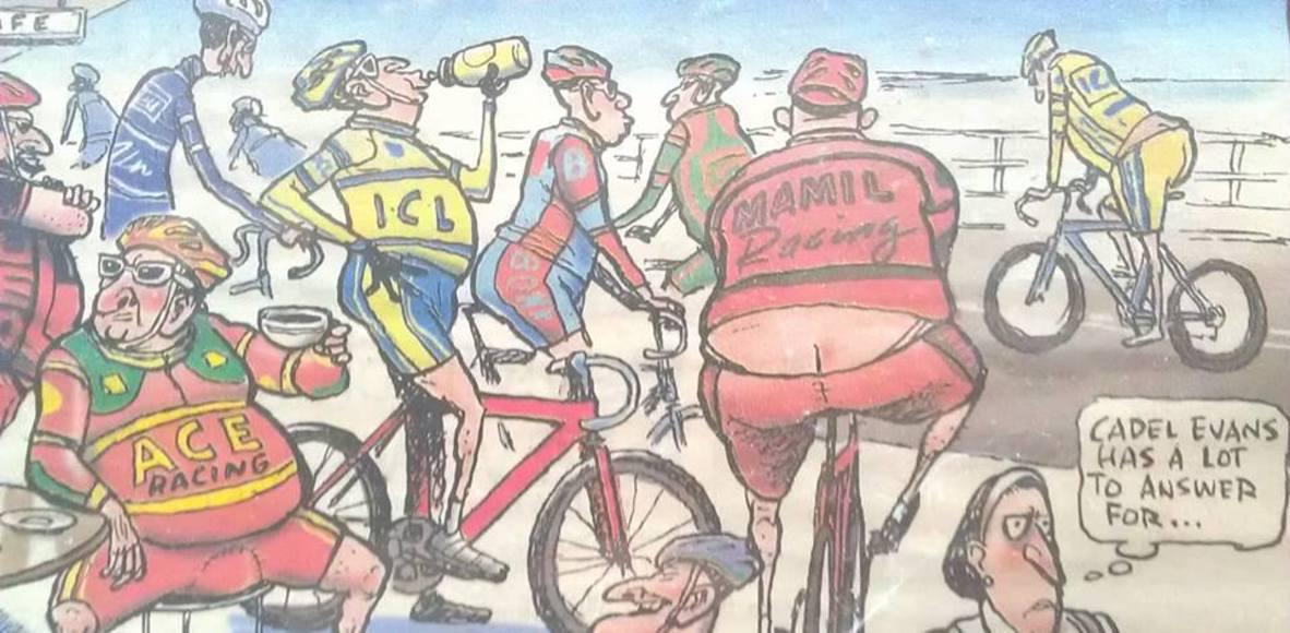 Over 70s Racing Cyclists