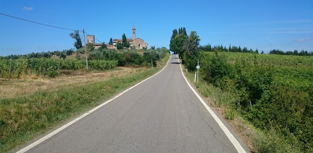 CICLISMO IN TOSCANA