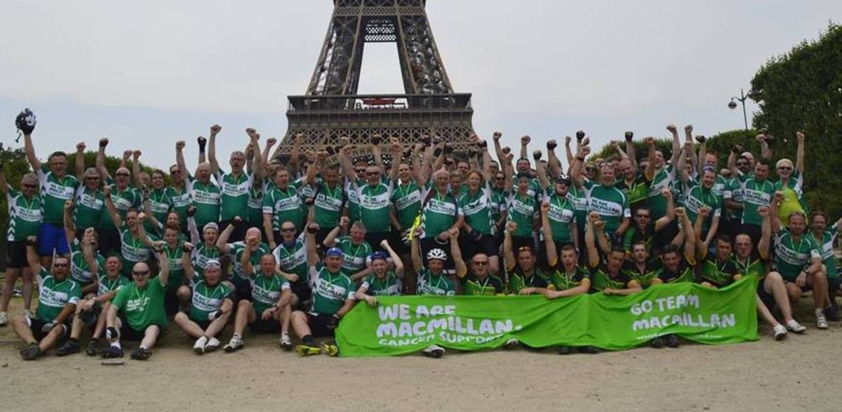 Macmillan Cancer Support - London to Paris 2015