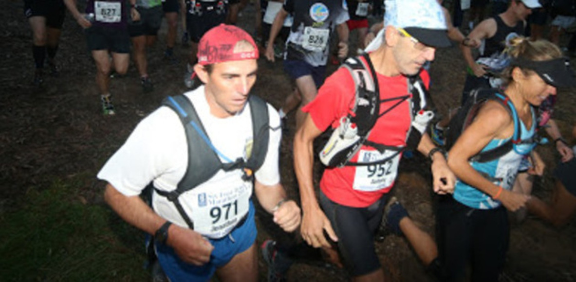 Six Foot Track 45km mountain trails race