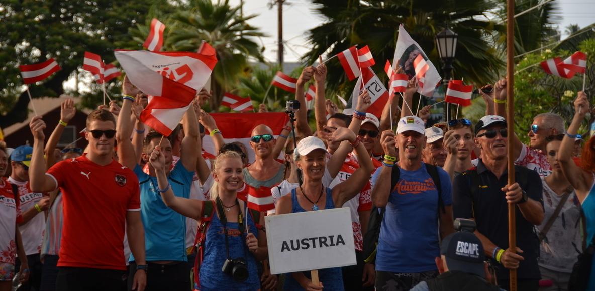 Triathleten in Österreich