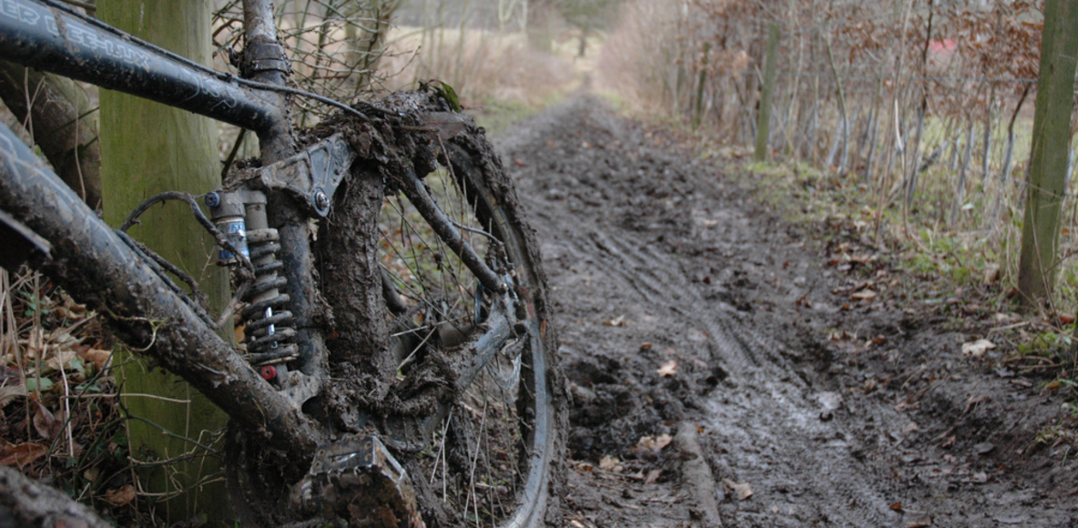Muddy Mountainbike