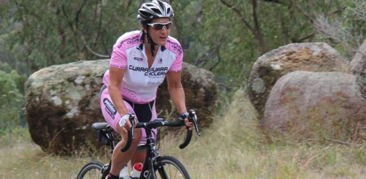Ladies cycling North Shore