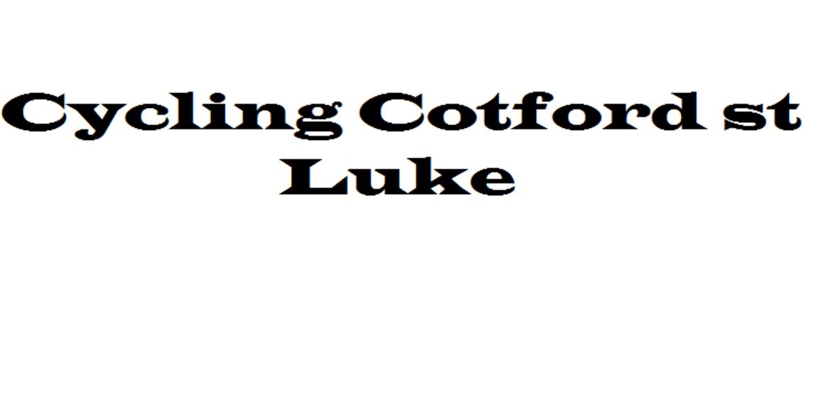 Cycling Cotford st Luke